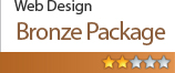 Website Design Bronze Package £174.99