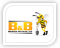 We created this logo for b & b