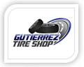 We created this logo for gutierrez tire shop