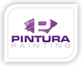 We created this logo for pintura paintings