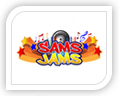 We created this logo for sams jams