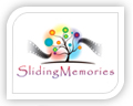 We created this logo for sliding memories
